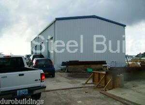 Durobeam Steel 50x60x12 Metal Rigid Frame Commercial Garage Building Kit Direct