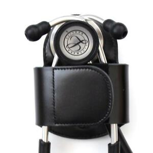 Stethoscope Holder With Closure And Belt Clip Universal Holster