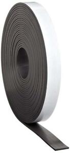 Master Magnetics Magnet Tape One Side Adhesive Magnetic 1 16 Thick X 1