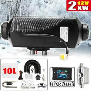 Parking Heater 2kw 12v Diesel Gasoline Air Heater For Car truck Boat rv camp Gt