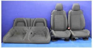 2015 2016 2017 Ford Mustang Gt Cloth Front Rear Seat Set Hot Rod