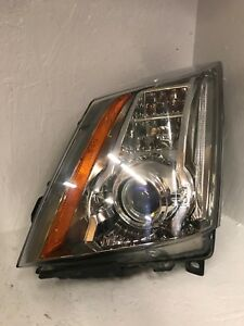 2008 2014 Cadillac Cts Oem Left Driver Side Hid Xenon Headlight