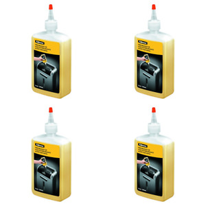 Fellowes 35250 Powershred Performance Oil 12 Oz Bottle W extension pack Of 4
