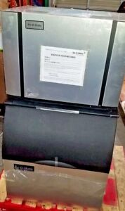 Ice o matic Commercial Ice Maker Machine Bin Cosmetic Damage New