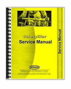 Service Manual Caterpillar 825 Compactor