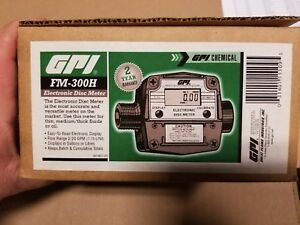 Gpi Great Plains 120000 1 Fm 300h Electronic Disc Meter New