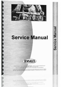 Service Manual Massey Harris 555 Tractor Diesel W Pump