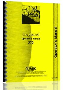 Operators Manual Leyland 272 Tractor