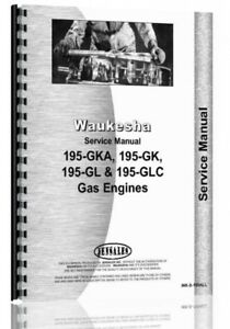 Service Manual Waukesha 195 g 6 Cyl Engine