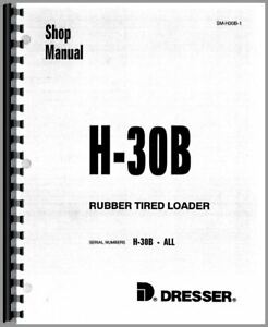 Service Manual Hough H 30b Pay Loader Chassis