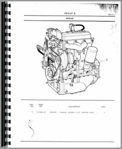 Parts Manual Minneapolis Moline G350 Oliver 1265 1270 Tractor
