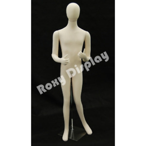 Fully Flexible Male Full Body Mannequin Form Removable Head Stand Included