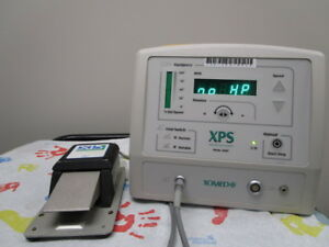 Xomed Xps 2000 Microresector Console W Medtronic Xps Footswitch