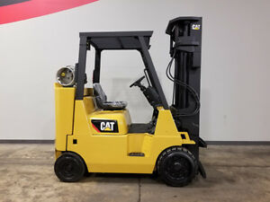 2007 Cat Caterpillar Gc40k str 8000lb Cushion Forklift Lpg Lift Truck Hi Lo
