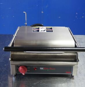New 14 Lang Pane Bella Commercial Panini Press Model Pbf 14g