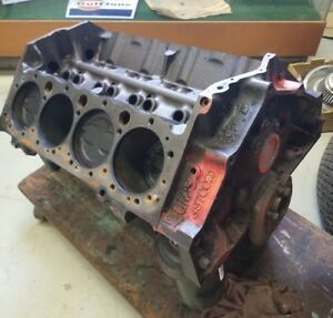 Small Block Chevrolet 350 4 Bolt Main Chevy Short Block Hot Rod Rat Engine