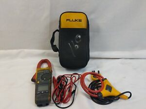 Fluke 376 Fc True rms Ac dc Clamp Meter With Iflex Recently Calibrated