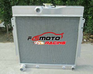 Aluminum Radiator For 1963 1969 Dodge Dart Charger Cornet Fury Plymouth V8 At Mt