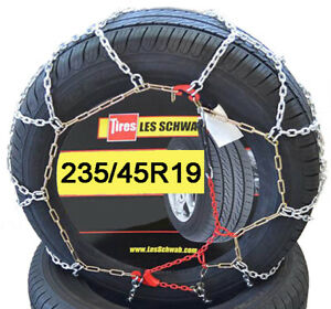 235 45r19 235 45 19 Chains Les Schwab Lt Tire Snow Chain