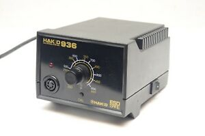 Genuine Hakko 936 Soldering Station Base Only Tested And Working 936 118