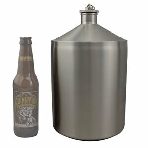New 5 Liter Stainless Steel Small Batch Fermenter Carboy Free2dayship Taxfree