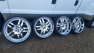 22 Inch Forgiato Rims