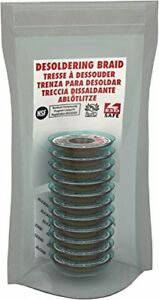 Mg Chemicals Desoldering Braid 1 Fine Braid Super Wick With Rma Flux 5 Length