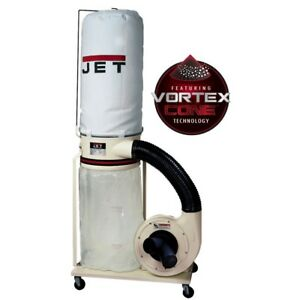 Jet 708658k Dc 1100vx 5m Dust Collector 1 5hp 1ph 115 230v 5 micron Bag Filter