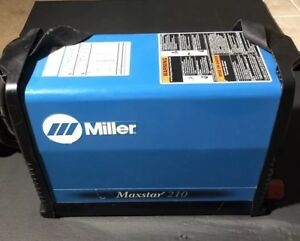 Miller Maxstar 210 With 2 Miller Weldcraft A 150 Tig Torch s Series 17