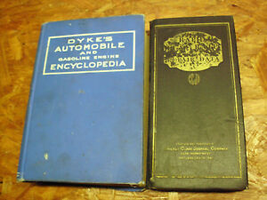 1924 Dykes Automobille Gasoline Engine Encyclopedia Trucks Motorcycles Tractors