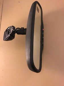 02 06 Silverado Sierra Compass Temp Auto Dimming Inside Rear View Mirror Oem