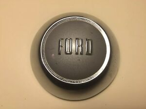 Vintage Ford 1955 Ford Mainline Courier Steering Wheel Horn Button Original