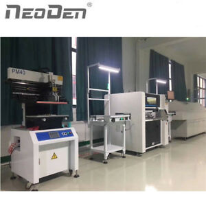 Smt Assembly Line Neoden7 Pnp Robot With Smt Conveyor And Reflow Soldering Oven