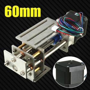 12v 3 Axis Engraving Machine Z Axis Slide Milling Linear Motion 60mm Diy Cnc