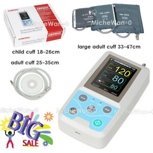 Nibp Holter Abpm50 Ambulatory Blood Pressure Monitor Adult child large Adult sw