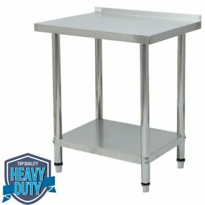 Stainless Steel Commercial Kitchen Work Food Prep Table 30 x24 Shelf New Cg