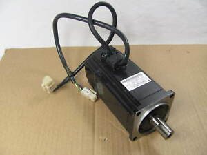 Yaskawa Ac Servo Motor Sgmah 04a1a hl11 Working When Removed