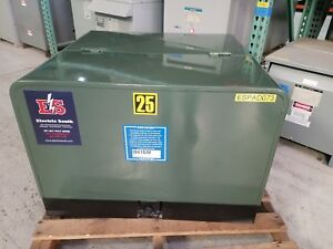 T r Electric Padmount Transformer 25 Kva Primary 12470y 7200 Sec 240 120
