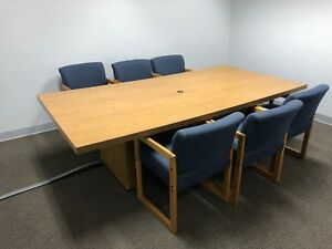 Conference Room Table With 6 Chairs Must Go