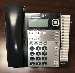 at t 1070 4 line Corded Small Business Telephones W Receiver Ac Adapter