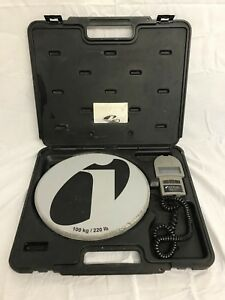 Inficon Wey tek Refrigerant Charging Ac Scale W case 713 500 g1
