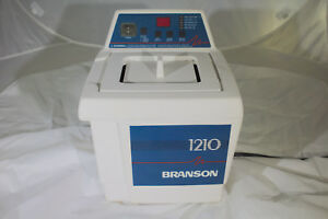 Branson Bransonic 1210r dth Ultrasonic Cleaner Heated Water Bath