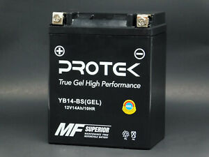 YB14-A2 YB14A-A1 YB14A-A2 YB14-B2 YTX14AH-BS Motorcycle ATV 12V GEL Battery 14Ah