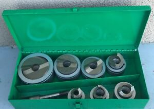 Greenlee 7307 Slug Splitter Stainless Steel Knockout Punch Set 1 2 2