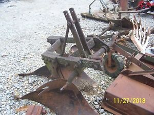 Jd John Deere Two Bottom Plow