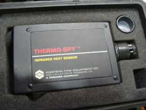 Western Fire Equipment Co Thermo spy Scanner Infrared Heat Sensor In Case