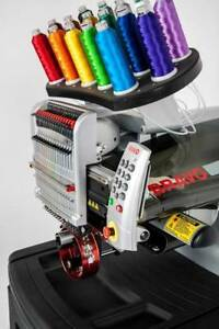 New Melco Bravo B 16 Needle Commercial Embroidery Machine Financing Available