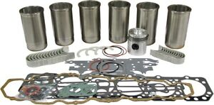 Engine Overhaul Kit Gas For Ford new Holland 800 Series Tractors