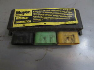 Used Meyer Snow Plow 6 Pin Light Module