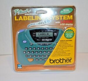 Brother P touch Electronic Labeling System Large Lcd Model Pt 65sccp Sealed